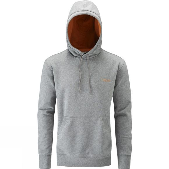 Rab Mens Approach Hoody Grey Marl