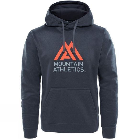 The North Face Mens Surgent Halfdome Pro Hoodie TNF Dark Grey Heather