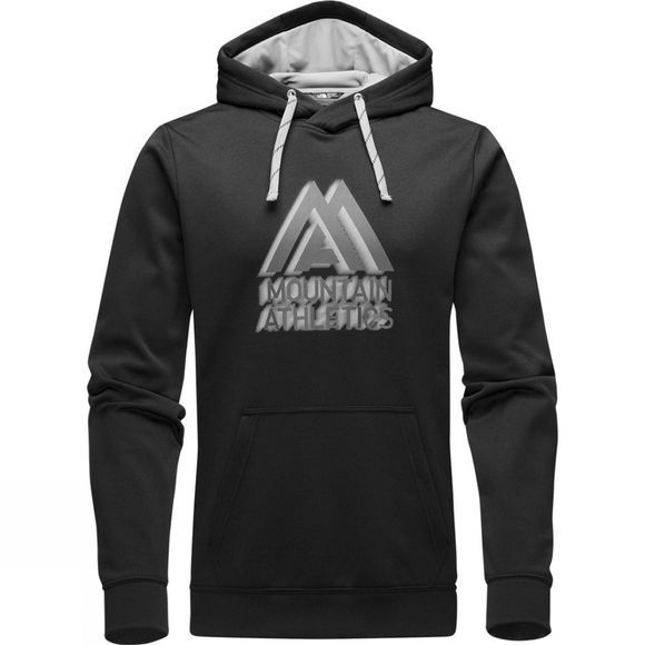 The North Face Mens MA Graphic Surgent Hoodie TNF Black/Mid Grey