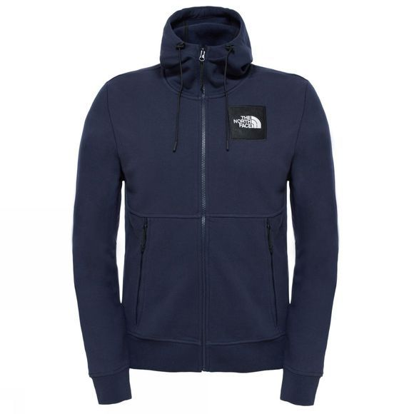 The North Face Mens Fine Full Zip Hoodie Urban Navy