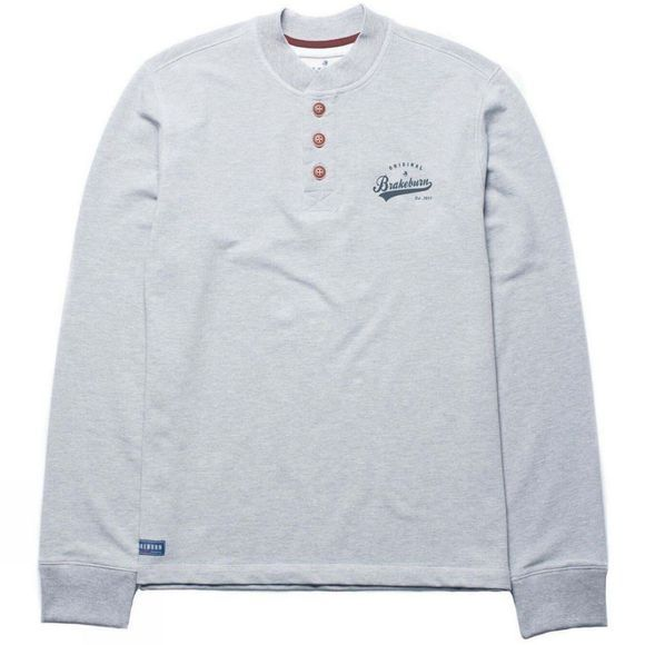 Mens Button Up Sweat