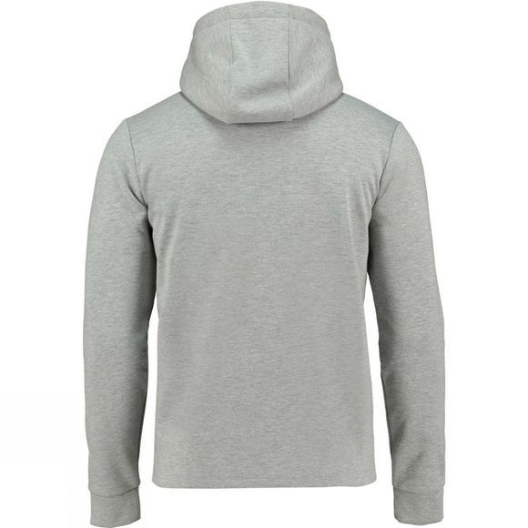 Ayacucho Mens Art Hoodie Light Grey Melange