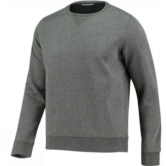 Ayacucho Mens Art Sweater Dark Grey Melange