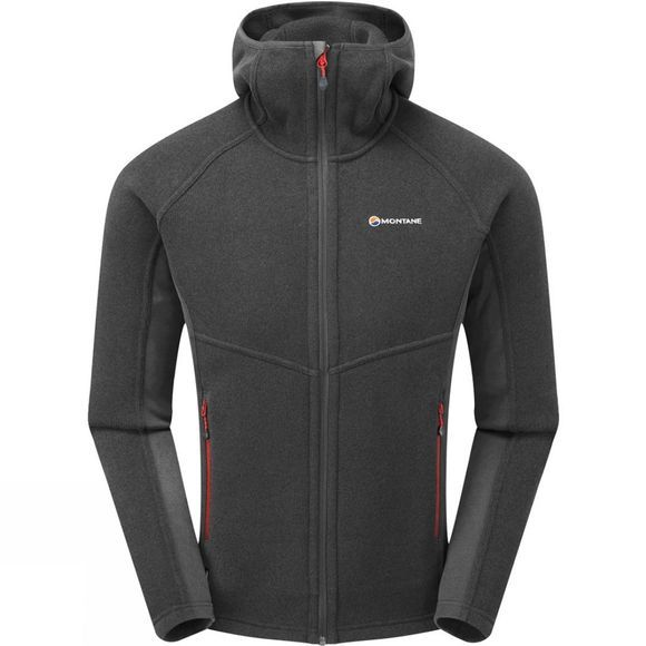 Montane Mens Neutron Hoodie Shadow/Alpine Red