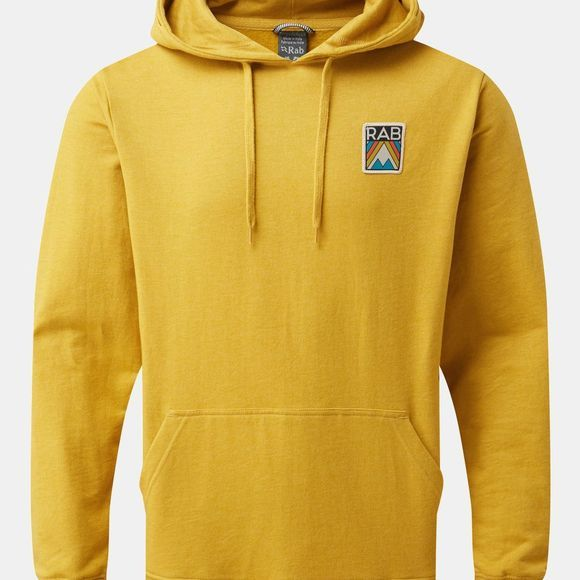 Rab Mens Journey Pull-On Hoody Dark Sulpher