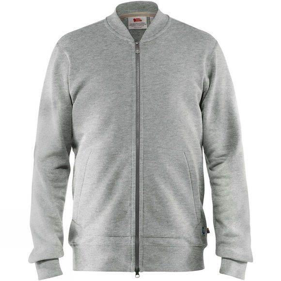 Fjallraven Mens Greenland Zip Cardigan  Grey