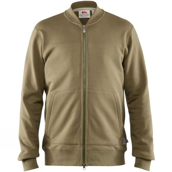Fjallraven Mens Greenland Zip Cardigan  Green