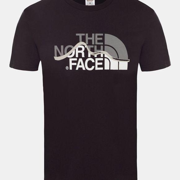 The North Face Mens Mountain Line Tee TNF Black