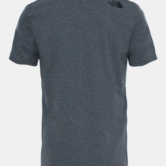 The North Face Mens Mountain Line Tee TNF Mid Grey Heather (Std)