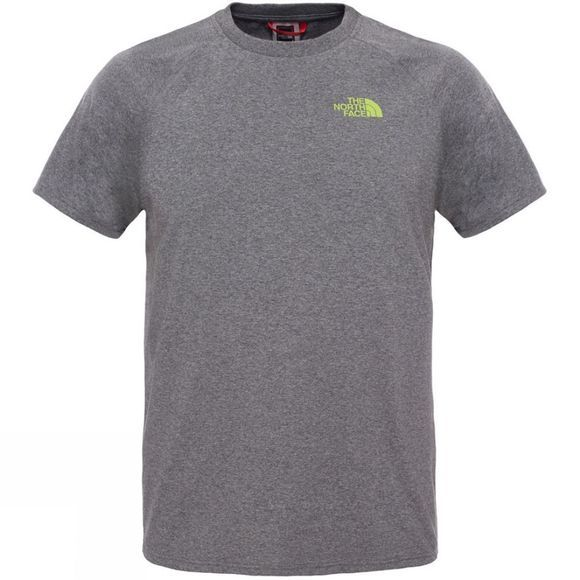 The North Face Mens Short Sleeve North Faces Tee TNF Medium Grey Heather