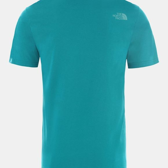 The North Face Mens Short Sleeve Easy Tee Fanfare Green