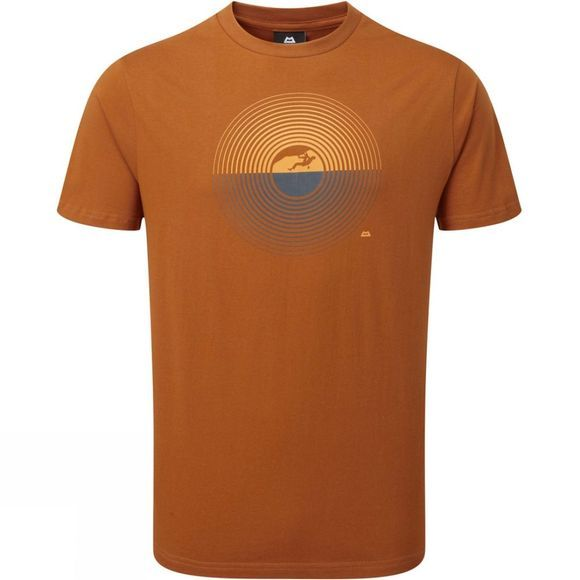 Mountain Equipment Mens Prism Tee Pumpkin Spice