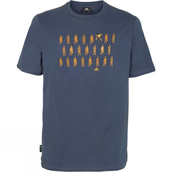 Mountain Equipment Mens Rebel Tee Ombre Blue
