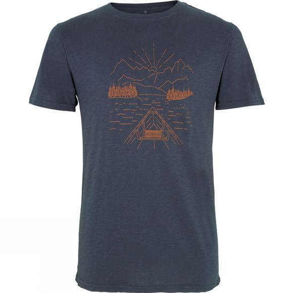 United By Blue Mens Canoe T-Shirt Navy