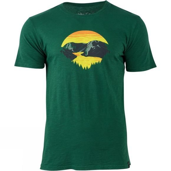 United By Blue Mens Park Layers T-Shirt Forest