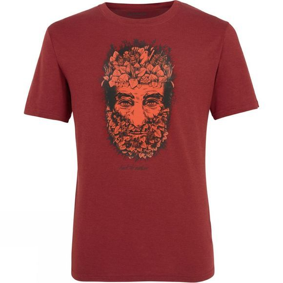 Ayacucho Mens Face T-Shirt Pomegranate