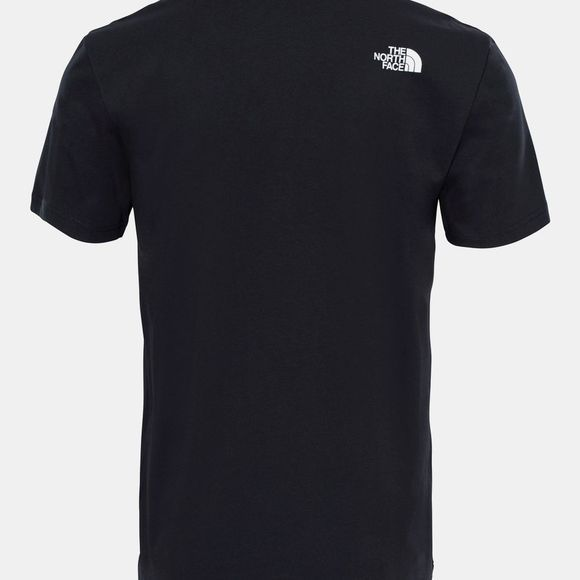 The North Face Mens Short Sleeve NSE Tee TNF Black