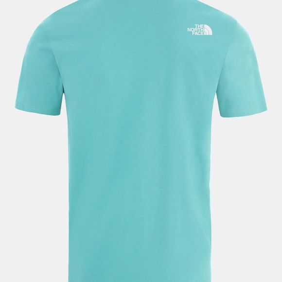 The North Face Mens Short Sleeve NSE Tee Lagoon