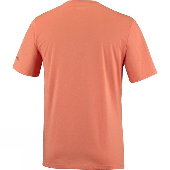 Columbia Mens PFG Tools Elements Short Sleeve Bright Peach