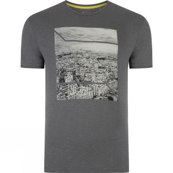 Dare 2 b Mens Out of Town Tee Aluminum Grey