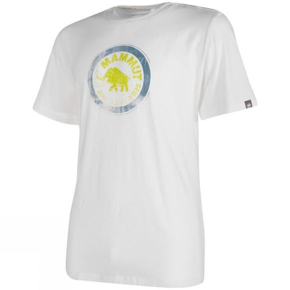 Mammut Mens Seile T-Shirt White/Sprout