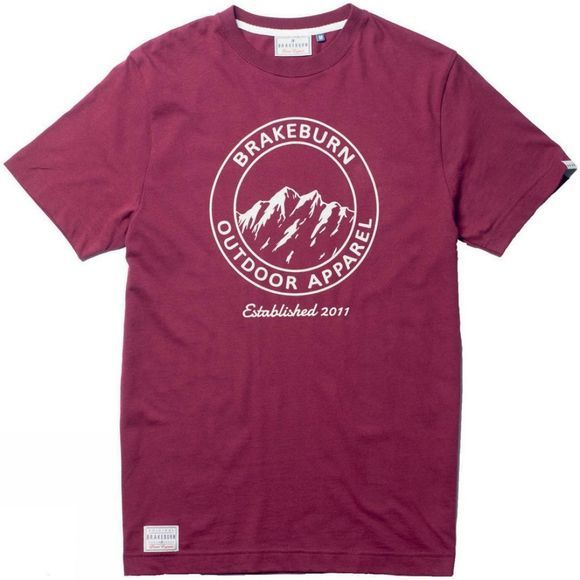 Mens Outdoor Apparel Crest Tee