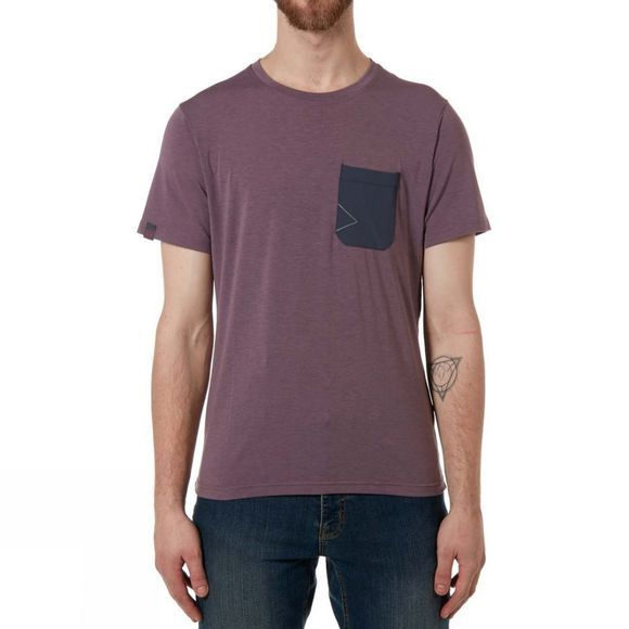 Rab Mens Crimp Short Sleeve Tee Heron