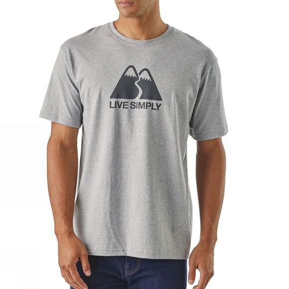 Mens Live Simply Winding Responsabili-Tee