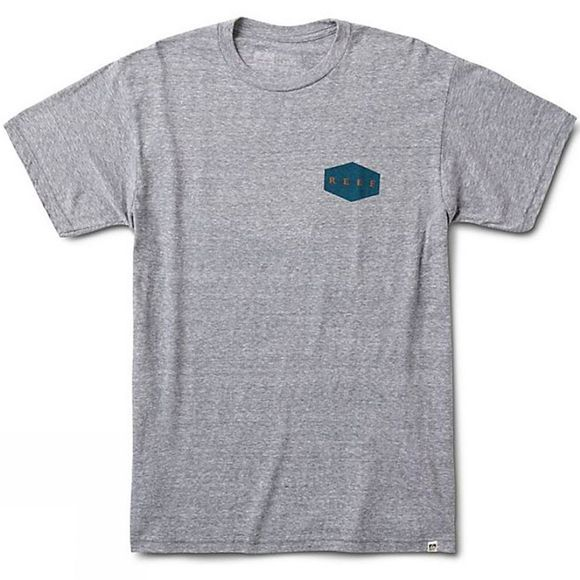 Reef Reef Reef Foundation Tee Heather/Grey