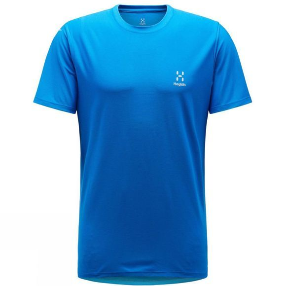 Haglofs Mens L.I.M Tech T-Shirt Storm Blue
