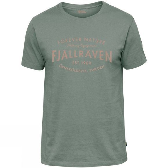 Fjallraven  Est 1960 T Shirt Sage Green