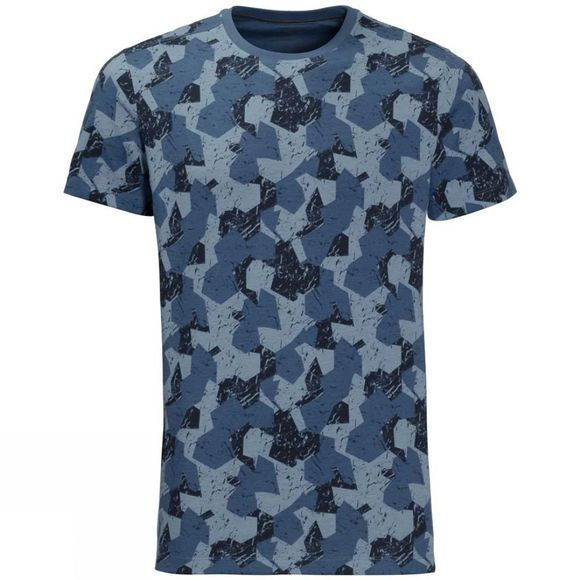 Jack Wolfskin Mens Marble Tee Ocean Wave All Over