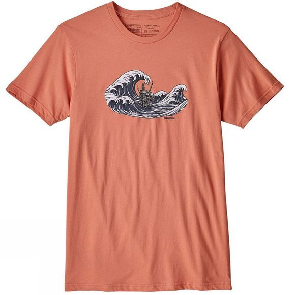 Mens Oily Olas Organic Cotton T-Shirt