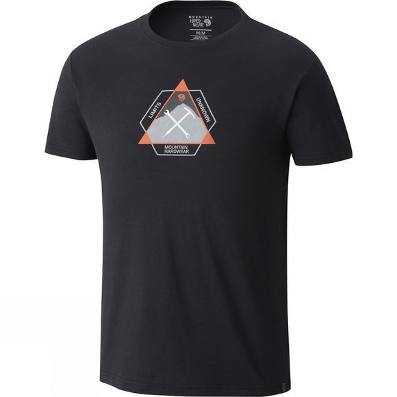Mountain Hardwear Mens Route Setter Short Sleeve Tee Black