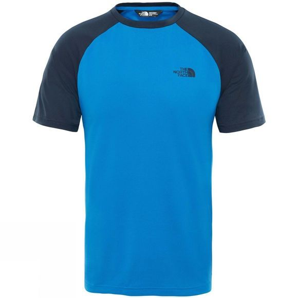 The North Face Tanken Raglan T-Shirt Turkish Sea/Urban Navy