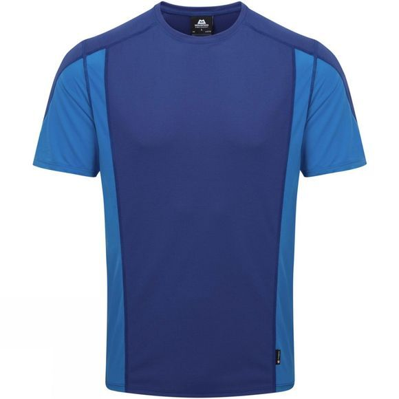 Mountain Equipment Mens Ignis Tee Sodalite/LtOcean