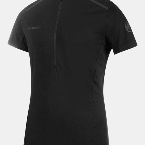 Mammut Mens Atacazo Light Zip T-Shirt Black/Black