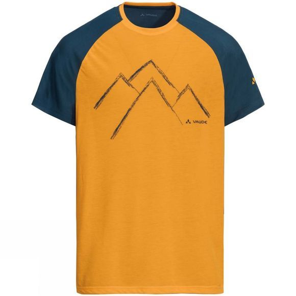 Vaude Mens Tekoa Shirt Rock Melone