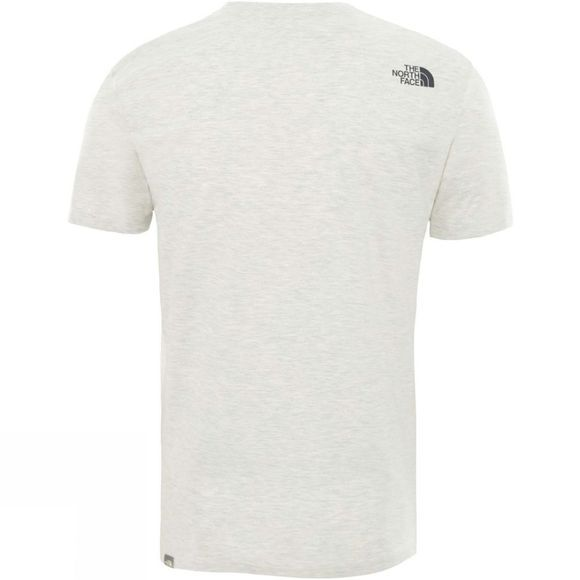 The North Face Mens Short Sleeve Flash T-Shirt Wild Oat Heather