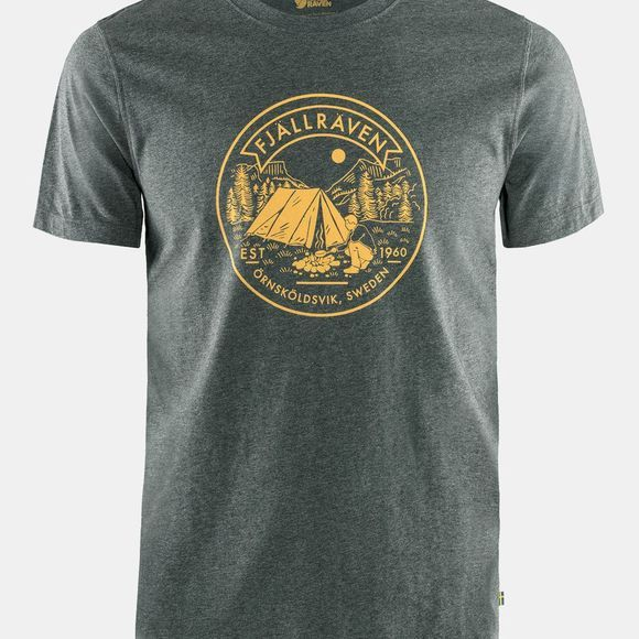 Fjallraven Mens Lägerplats T-Shirt Stone Grey