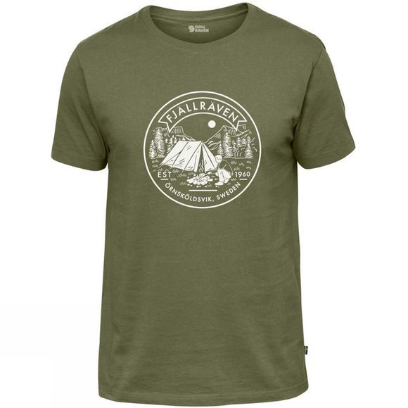 Fjallraven Mens Lägerplats T-Shirt Green