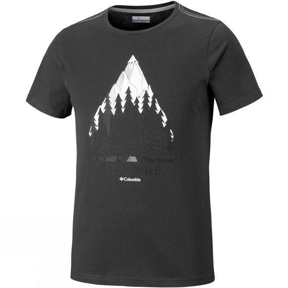 Columbia Mens Wild Camp Short Sleeve Tshirt Shark