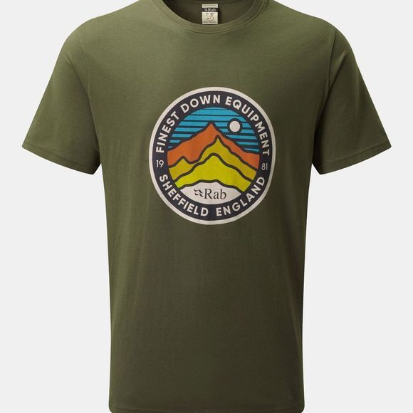 Rab Stance 3 Peaks SS T-shirt Army