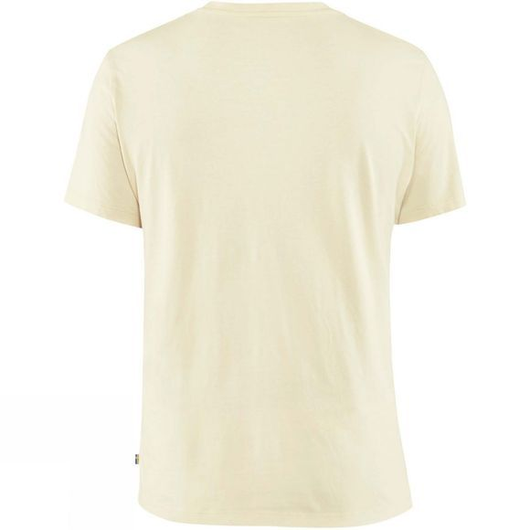 Fjallraven Mens Arctic Fox T-Shirt Chalk White