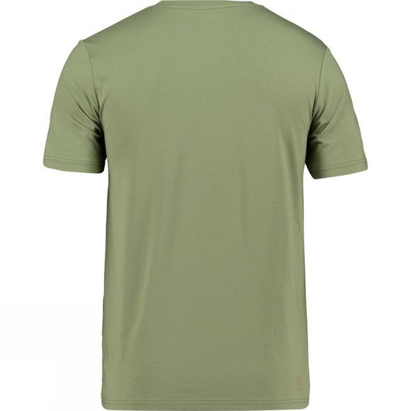 Ayacucho Mens Mountain Lake T-Shirt Light moss