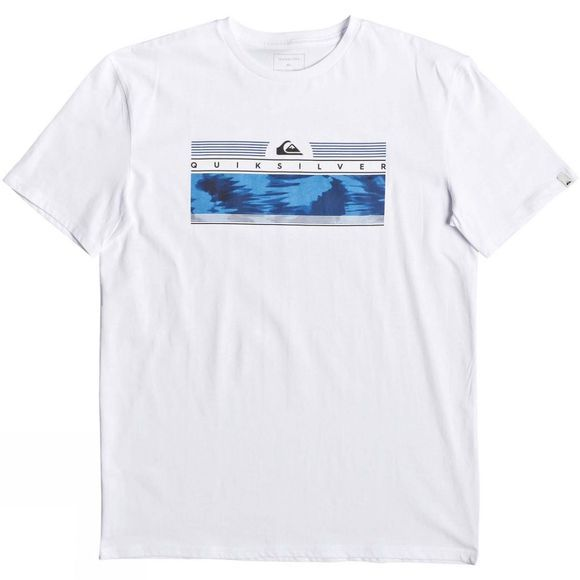 Quiksilver Mens The Jungle Short Sleeve T-Shirt White
