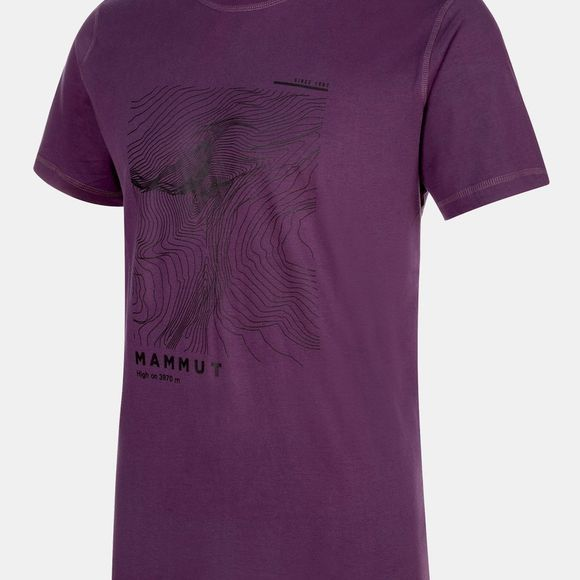Mammut Mens Massone T-Shirt Galaxy Prt2