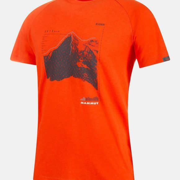 Mammut Mens Mountain T-Shirt Zion Prt1