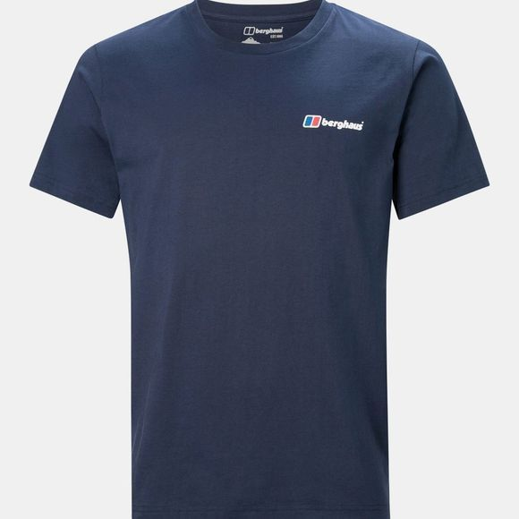 Berghaus Mens Corporate Logo Tee Dusk