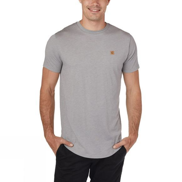 Tentree Standard Short Sleeve Tee Hi Rise Grey Heather